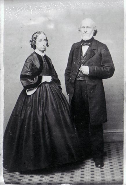 Ichabod Washburn and wife, no date