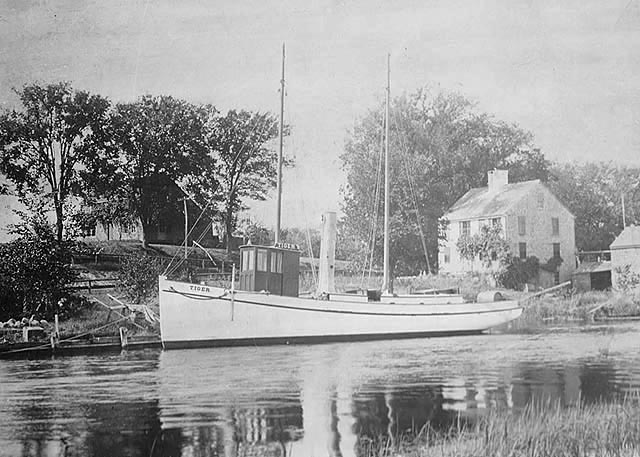 Steamer Tiger, ca. 1898