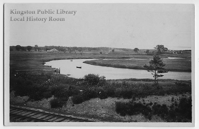 "The ""Short Reach"" of the Jones River, 1920"