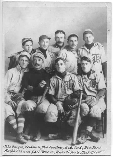 Kingston Town Base Ball Team, around 1900