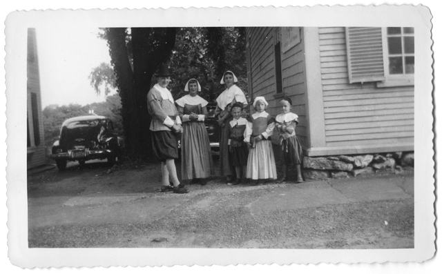 "A family of ""Pilgrims,"" no date"