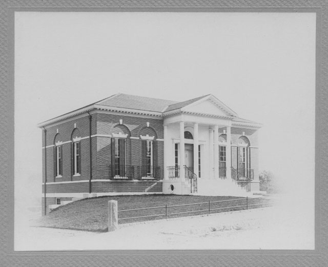 Frederic C. Adams Library, no date
