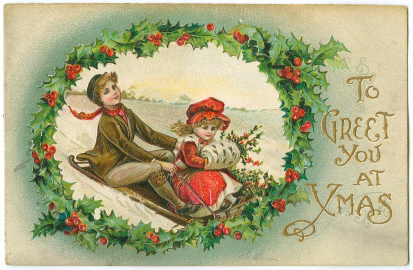 """To Greet You at X-mas,"" no date"