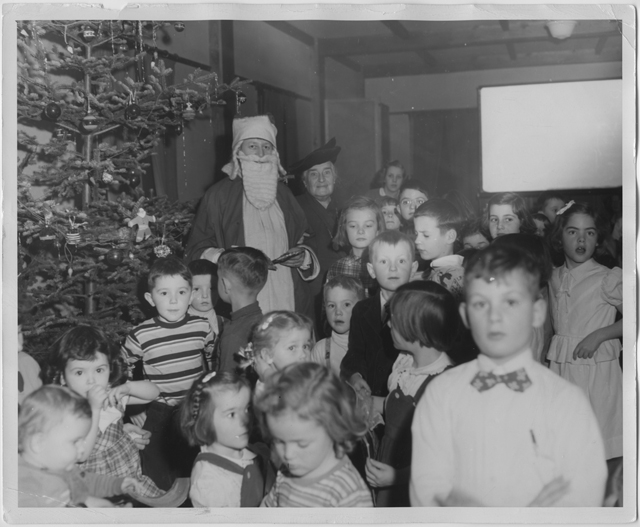 Sunday School Christmas, 1949