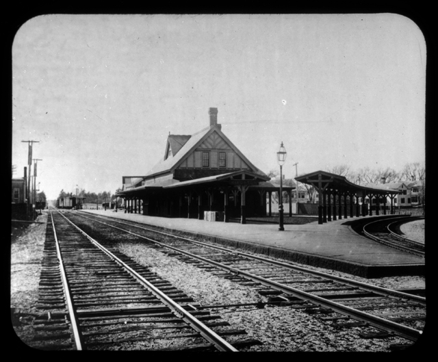 Kingston passenger railroad station, no date.