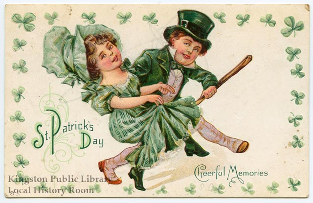 St. Patrick's Day Cheerful Memories, no date