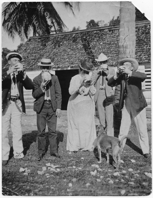 Henry M. Jones and the coconut party, no date