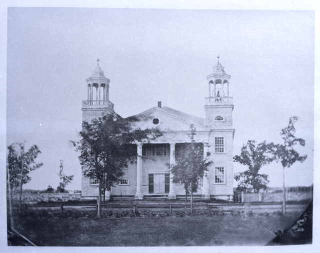 Second Meeting House, no date (but before 1851)
