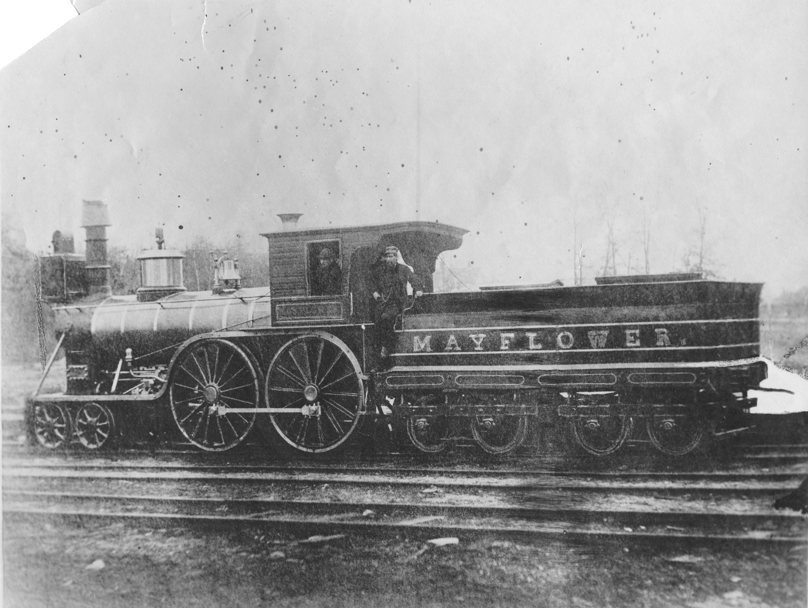 The Engine <i>Mayflower</i>, no date