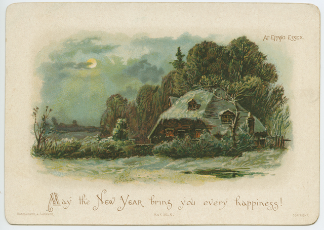 May the New Year bring you every happiness! 1891