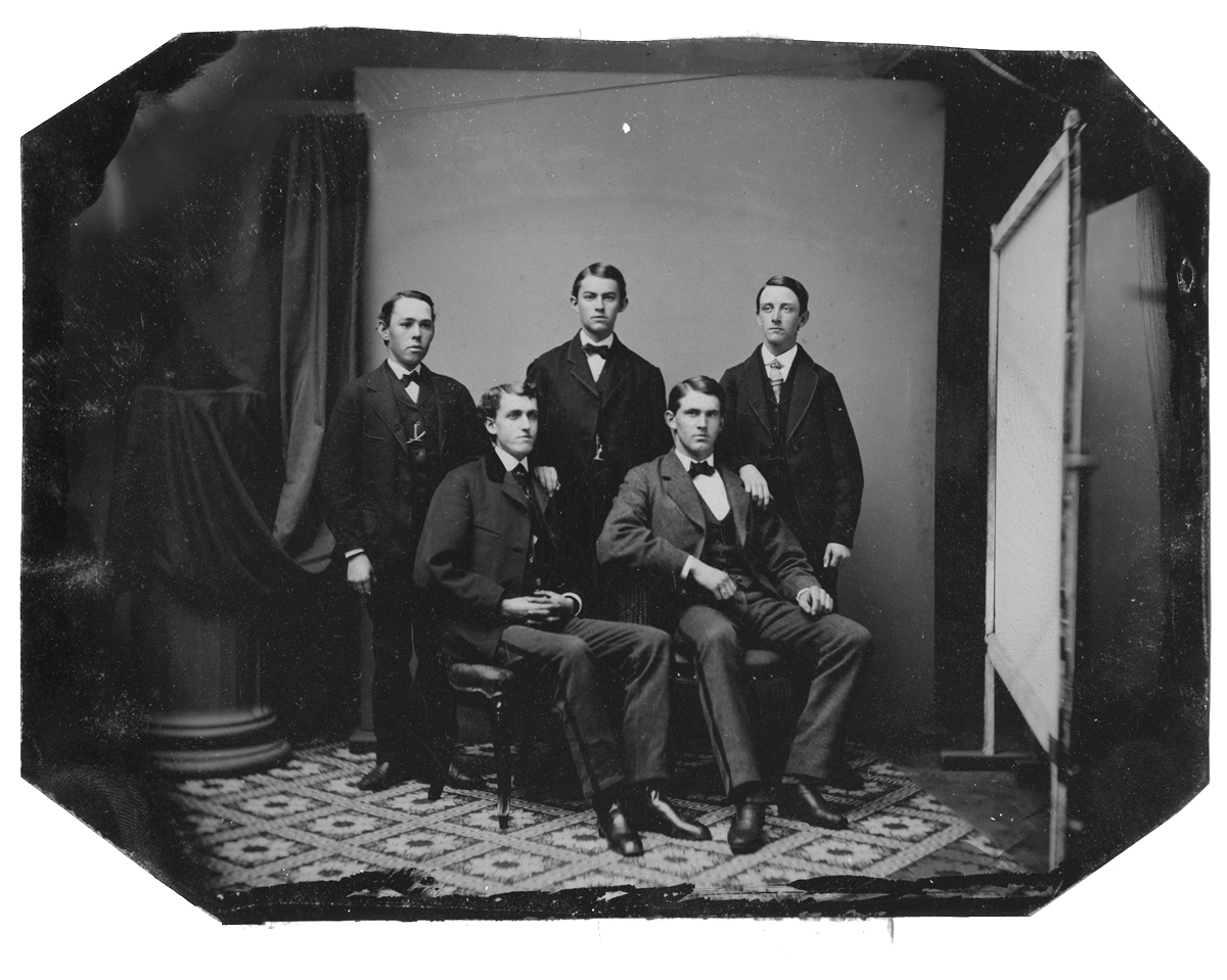 Wendell Adams, Rufus Toby, Winslow Faunce, Bradford Adams, Charles Everson, no date
