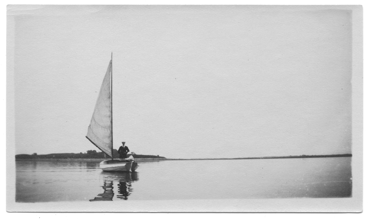 Unidentified sailboat, no date