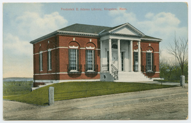 Frederic C. Adams Public Library, by A.S. Burbank, no date