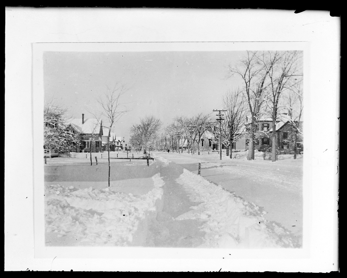 Main Street, west from Maple Avenue, no date