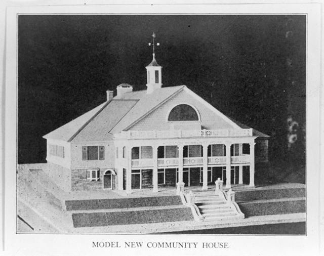 Model New Community House, 1926