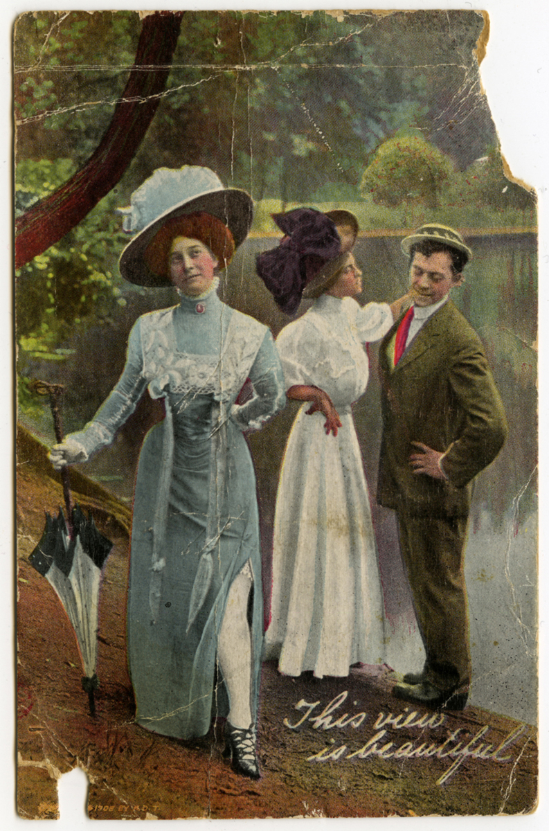 """This view is beautiful,"" 1908"