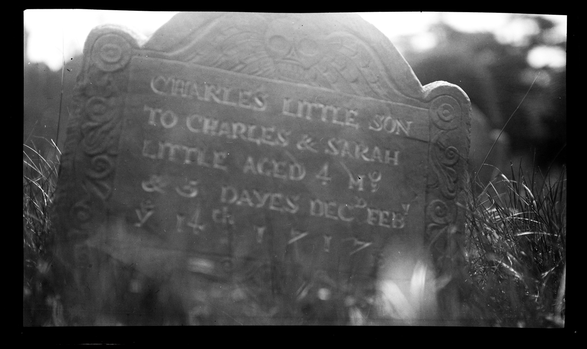 Gravestone of Charles Little, 1925