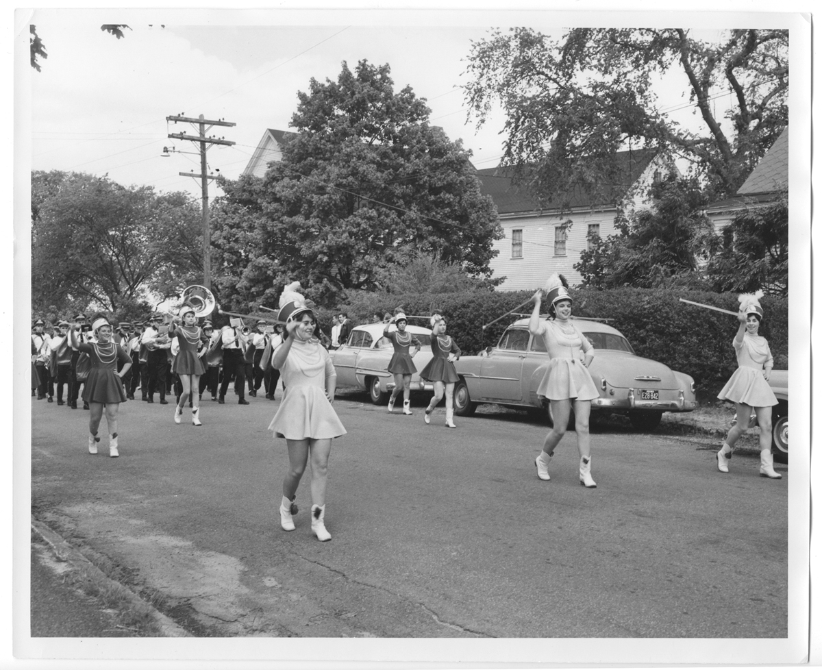 Majorettes on Main Street