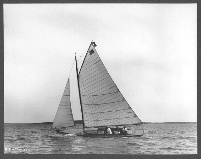 Kittiwake V, 1905. Photo by N. L. Stebbins Photo, Boston, Mass.