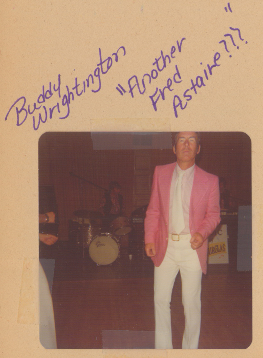 "Buddy Wrightington, ""Another Fred Astaire???"" April 1977"