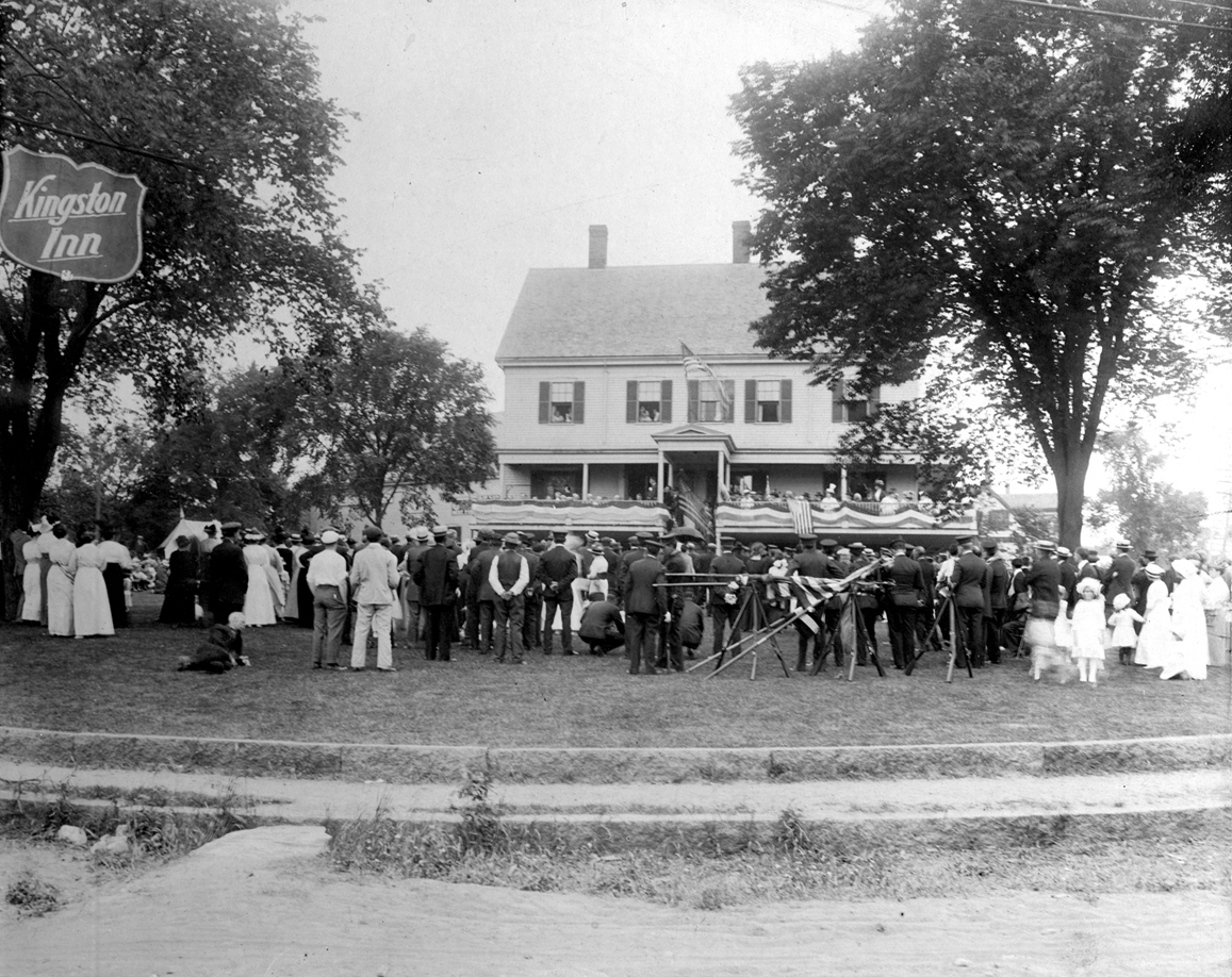 Kingston Inn, Flag Day 1915
