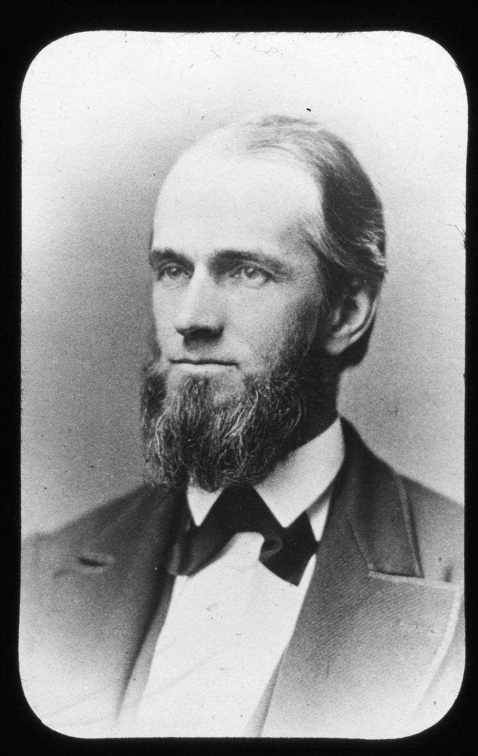 Henry Kingman Keith, portrait, circa 1860
