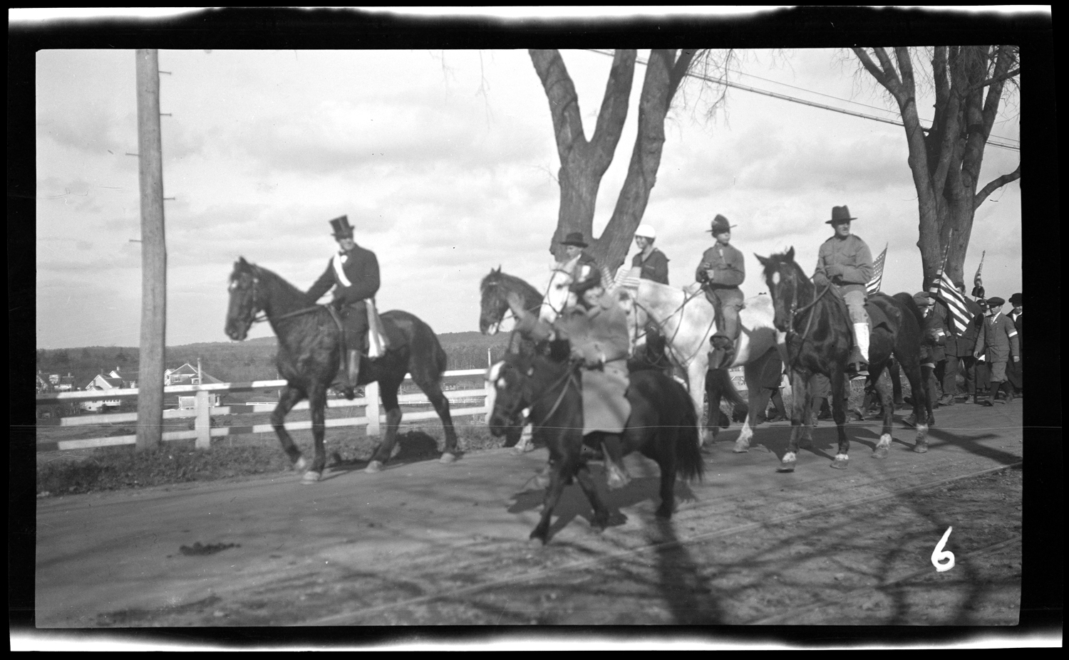 Riders in the Welcome Home parade, October 18, 1919.