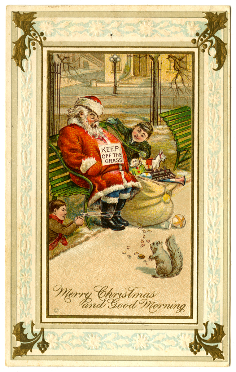 Merry Christmas and Good Morning, 1911