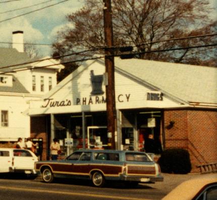 Tura's Pharmacy, November 1979