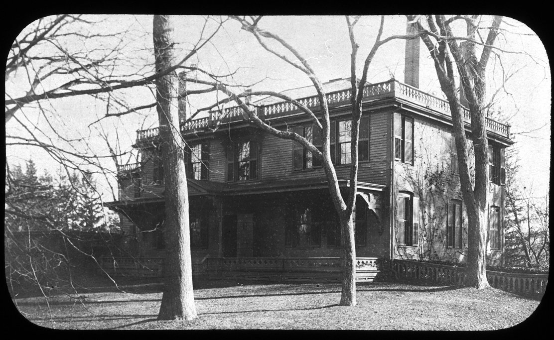 John Thomas House, Thomas Hill, 156 Main Street, circa 1900