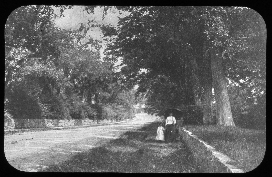 Strolling on Thomas' Hill, 1890
